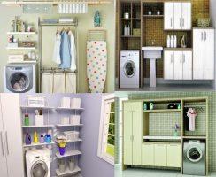Armazenamento eficiente de objetos na sua casa ou apartamento Armazenamento e Prateleiras Casa e Jardim